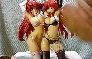 Two man figure bukkake (Tamaki duo)